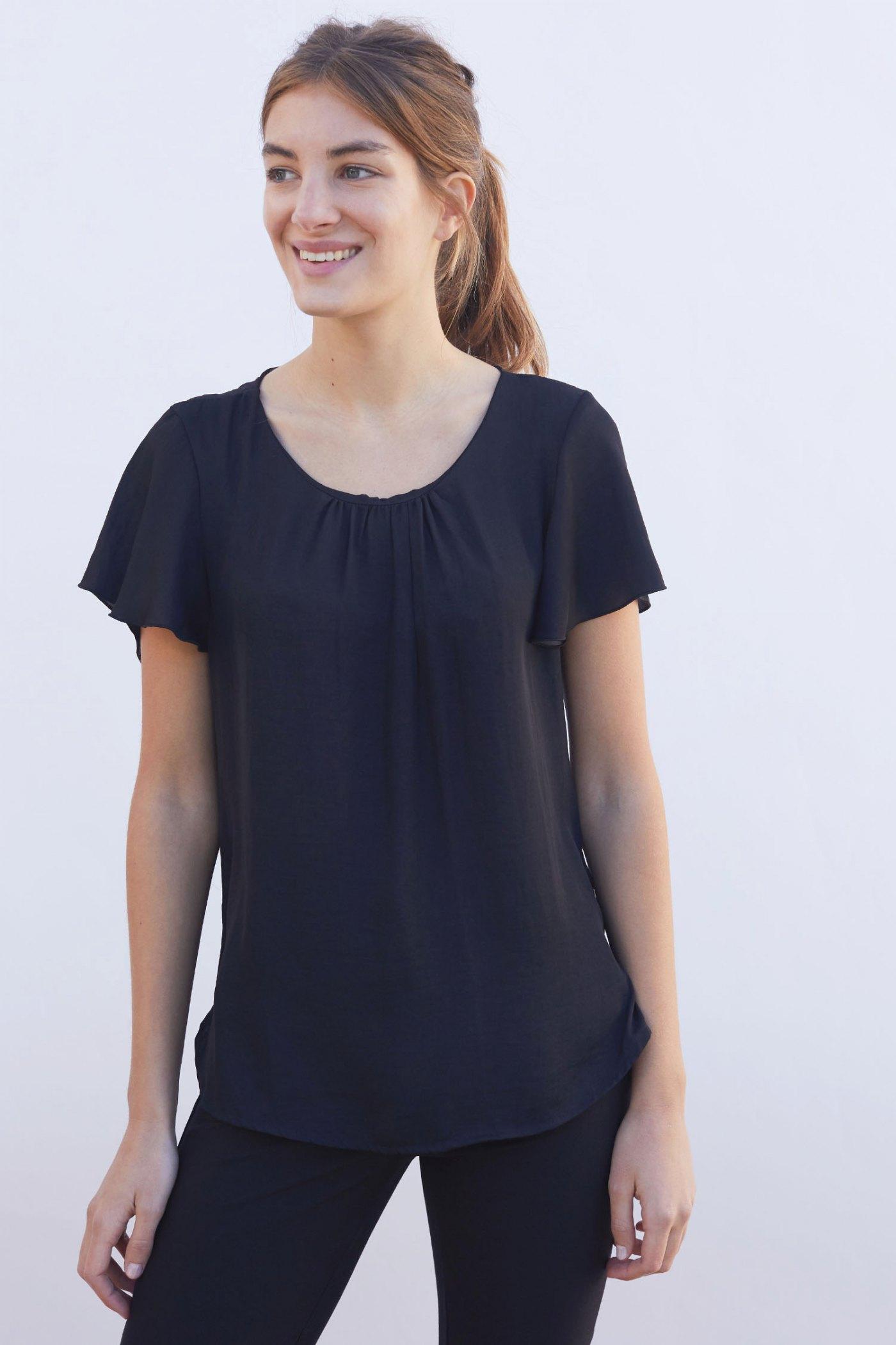 Camisa Catalina Negra