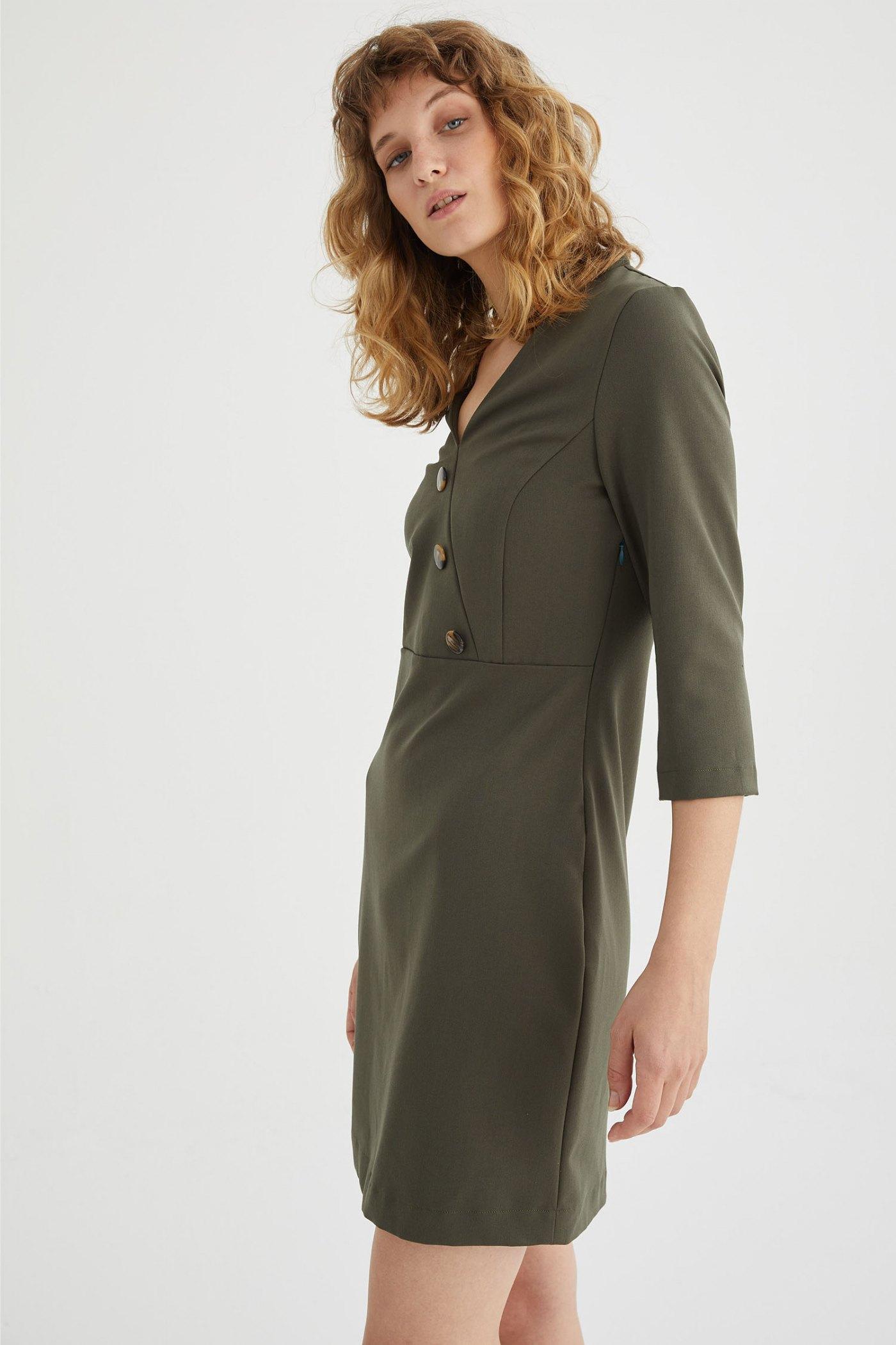 Vestido Florencia Verde
