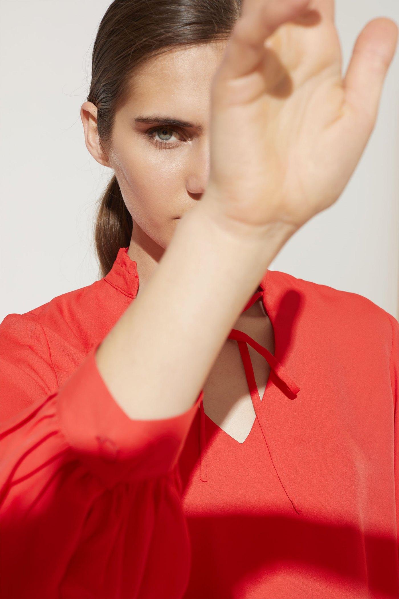 Camisa Angelina Roja