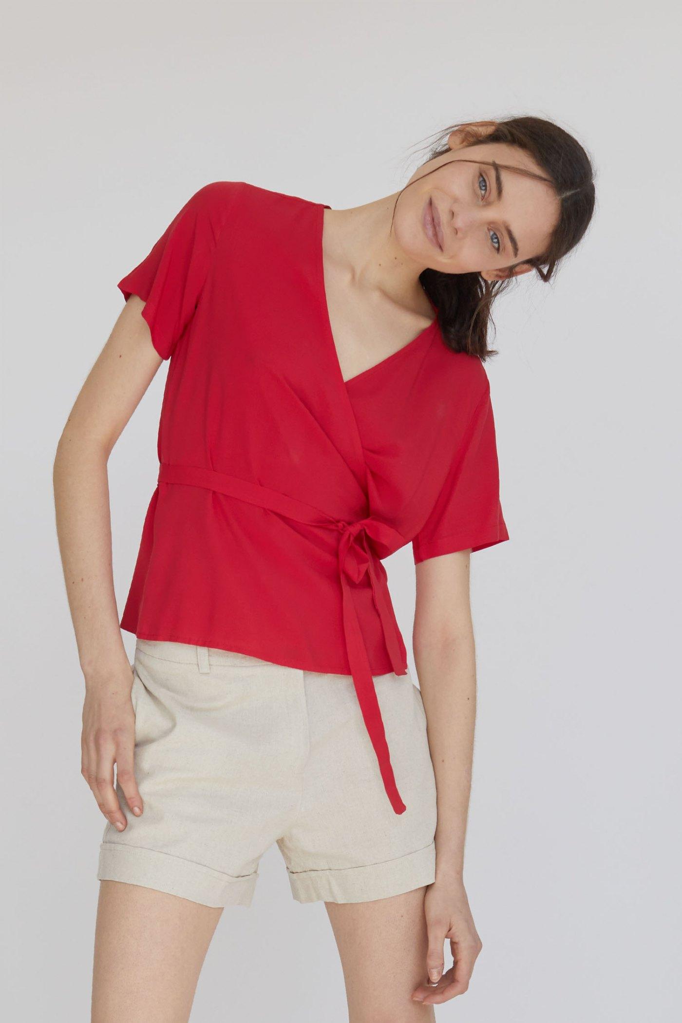 Camisa Brooks Roja