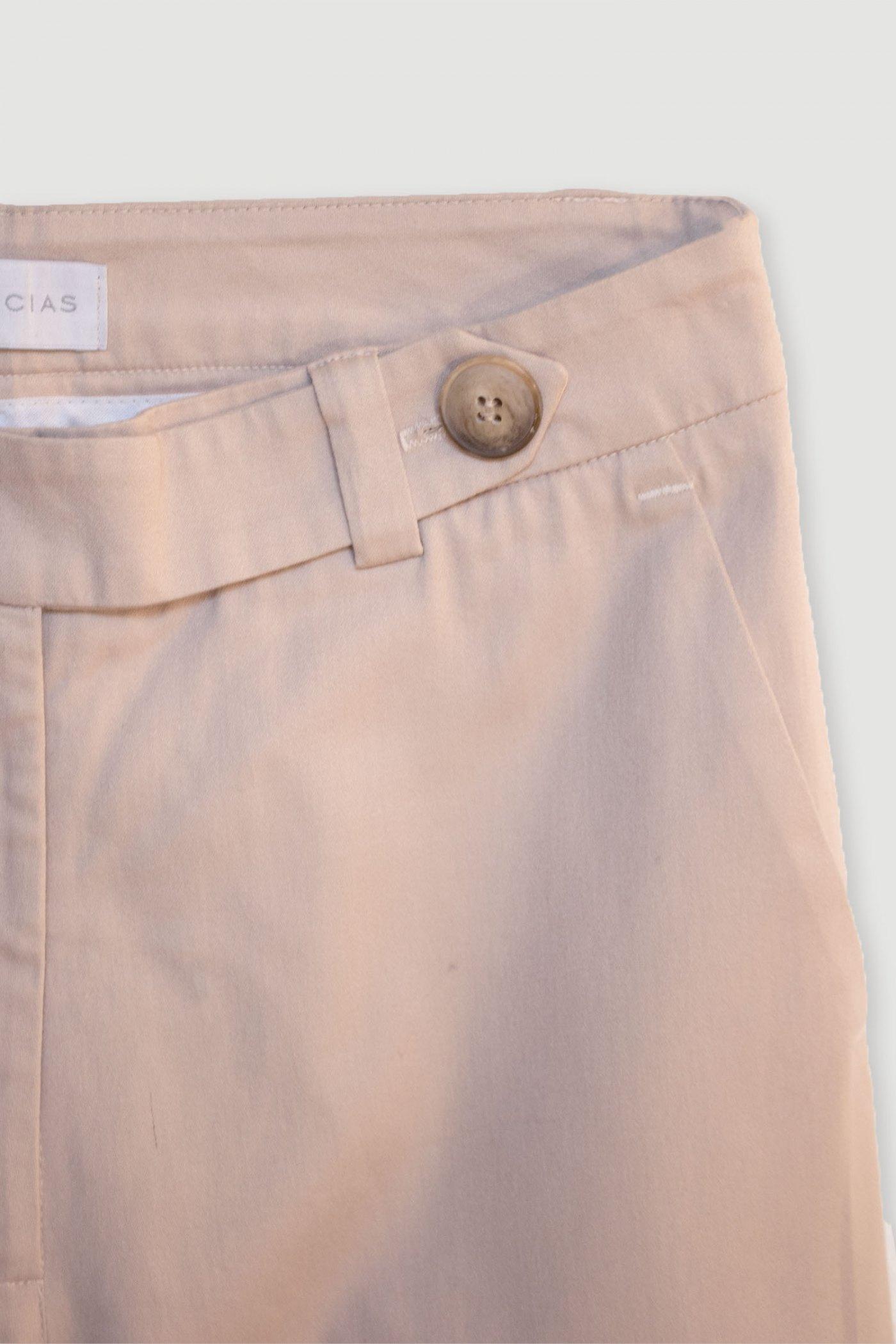 Pantalón Uniforme Azul y Beige