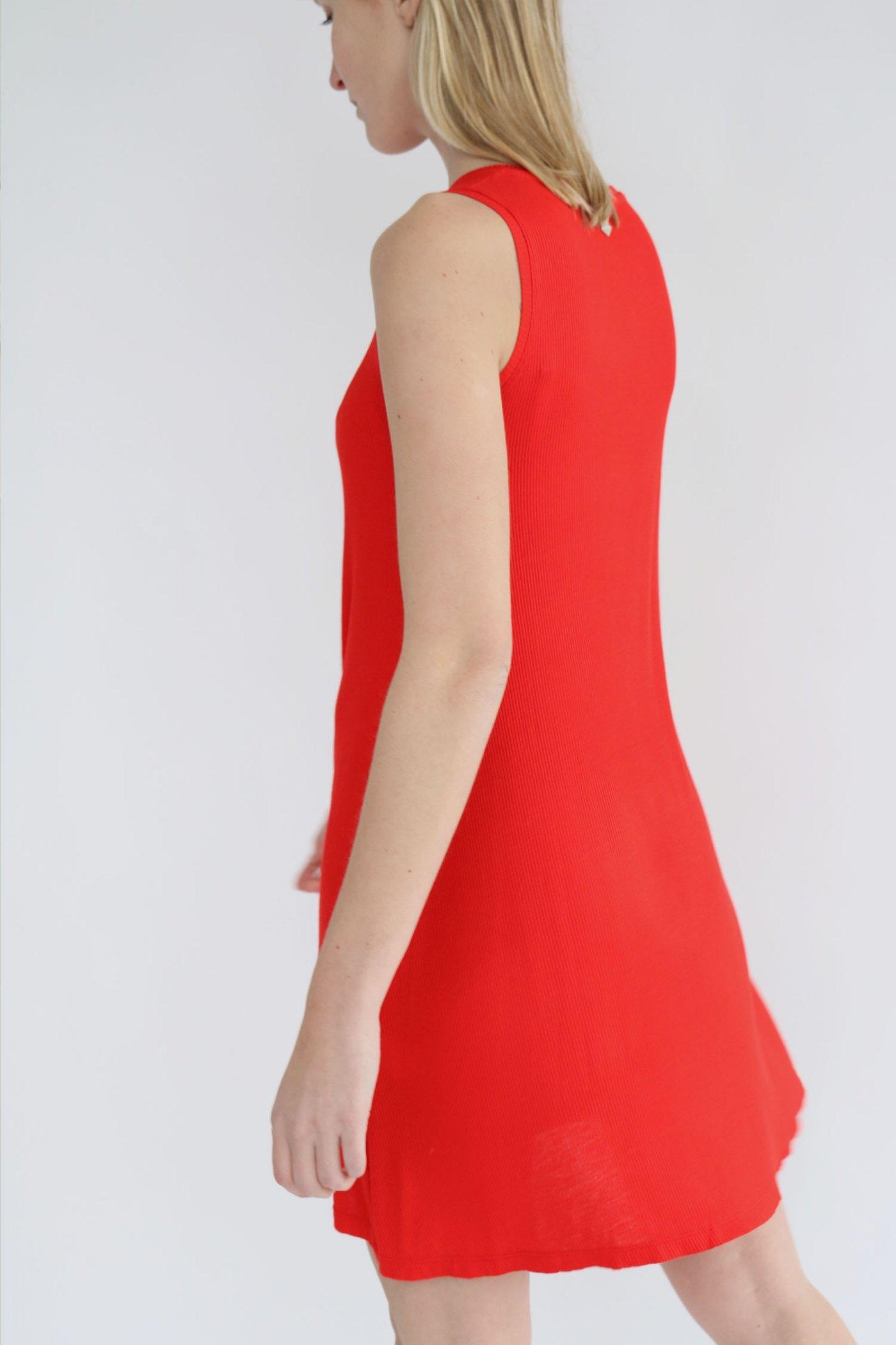 Vestido Karen Rojo