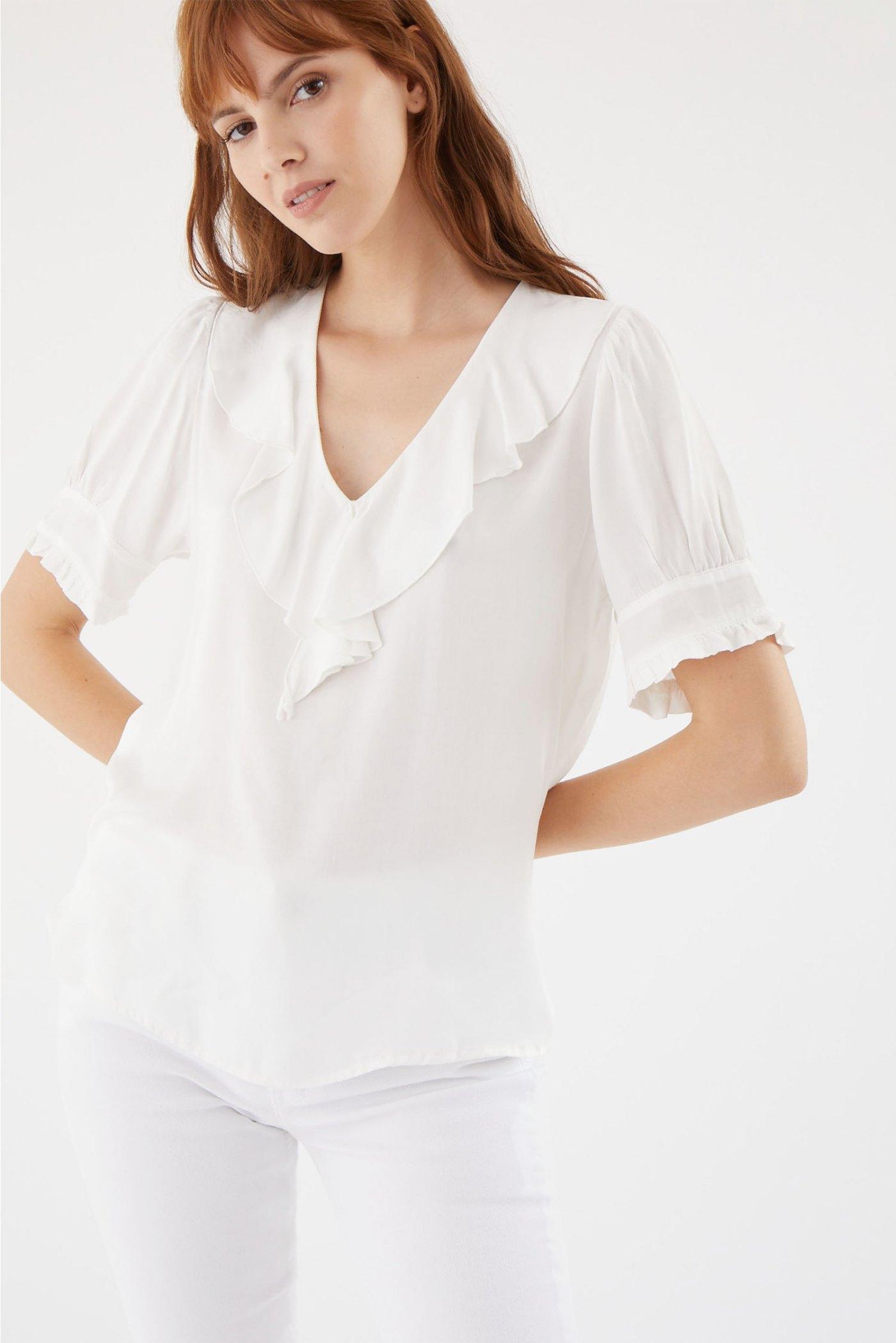 Blusa Nas Blanco