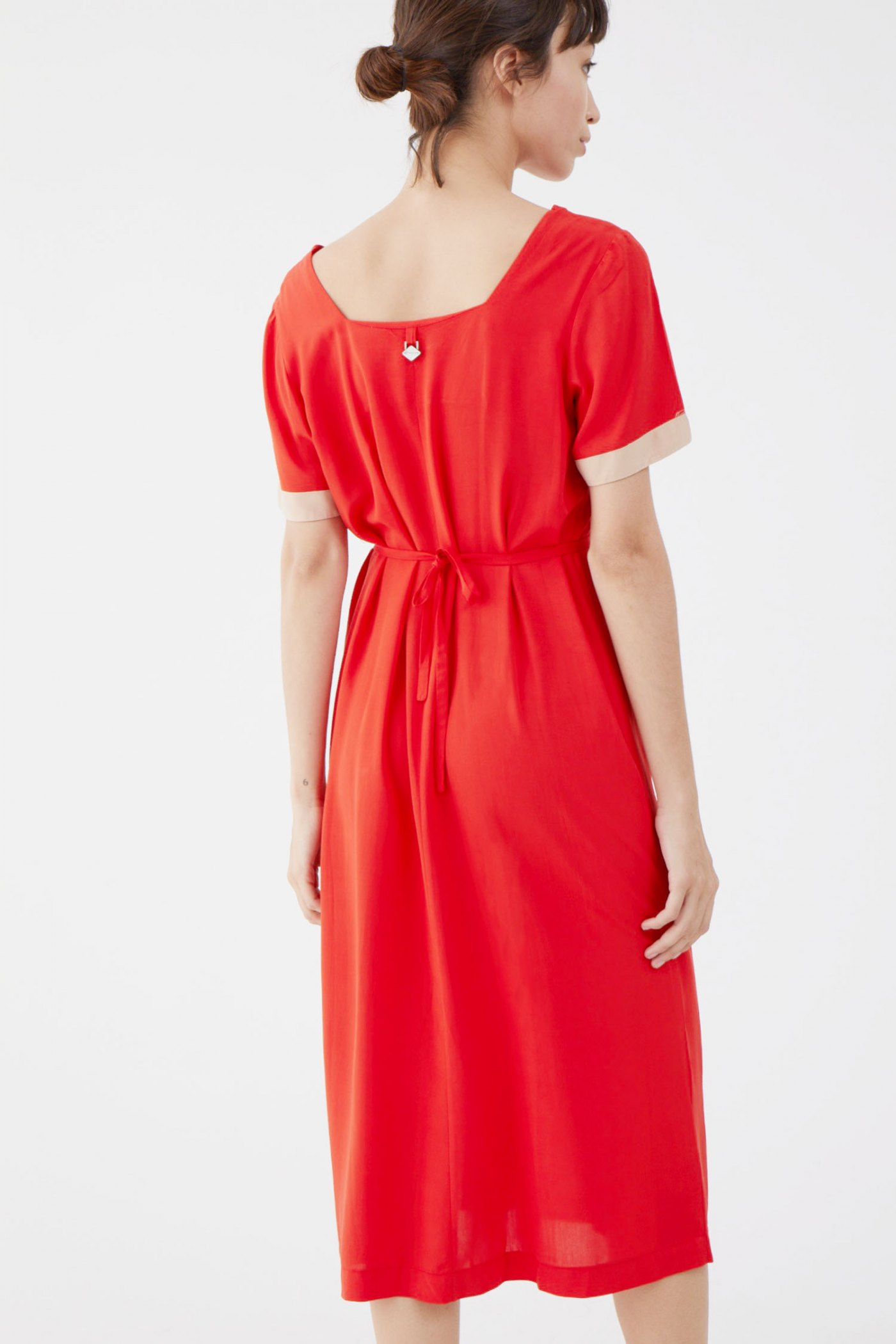Vestido Dougal Rojo