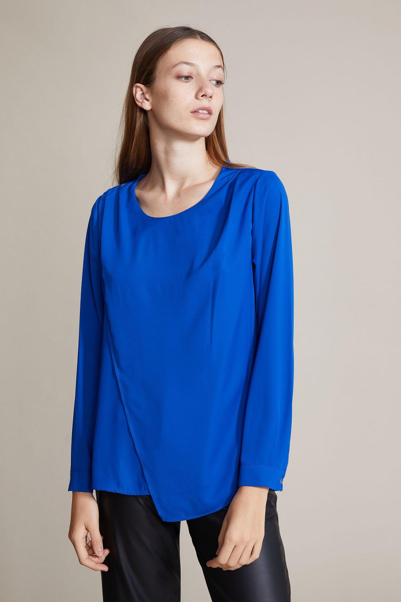 Blusa Hilaria Azul