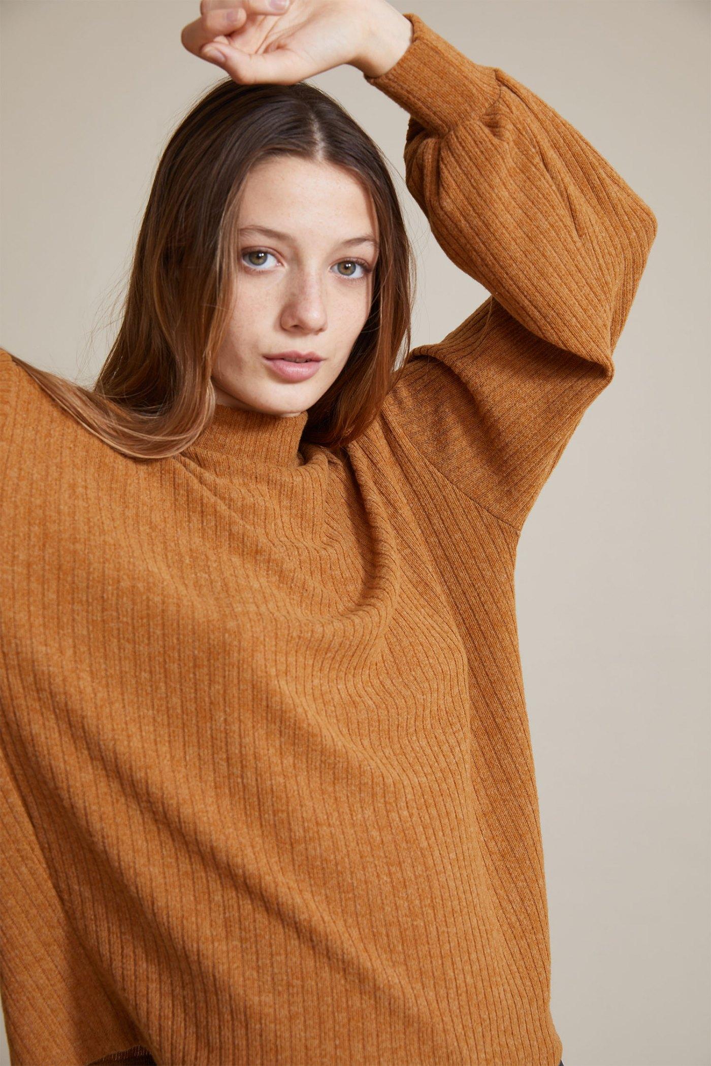 Sweater Levine Camel