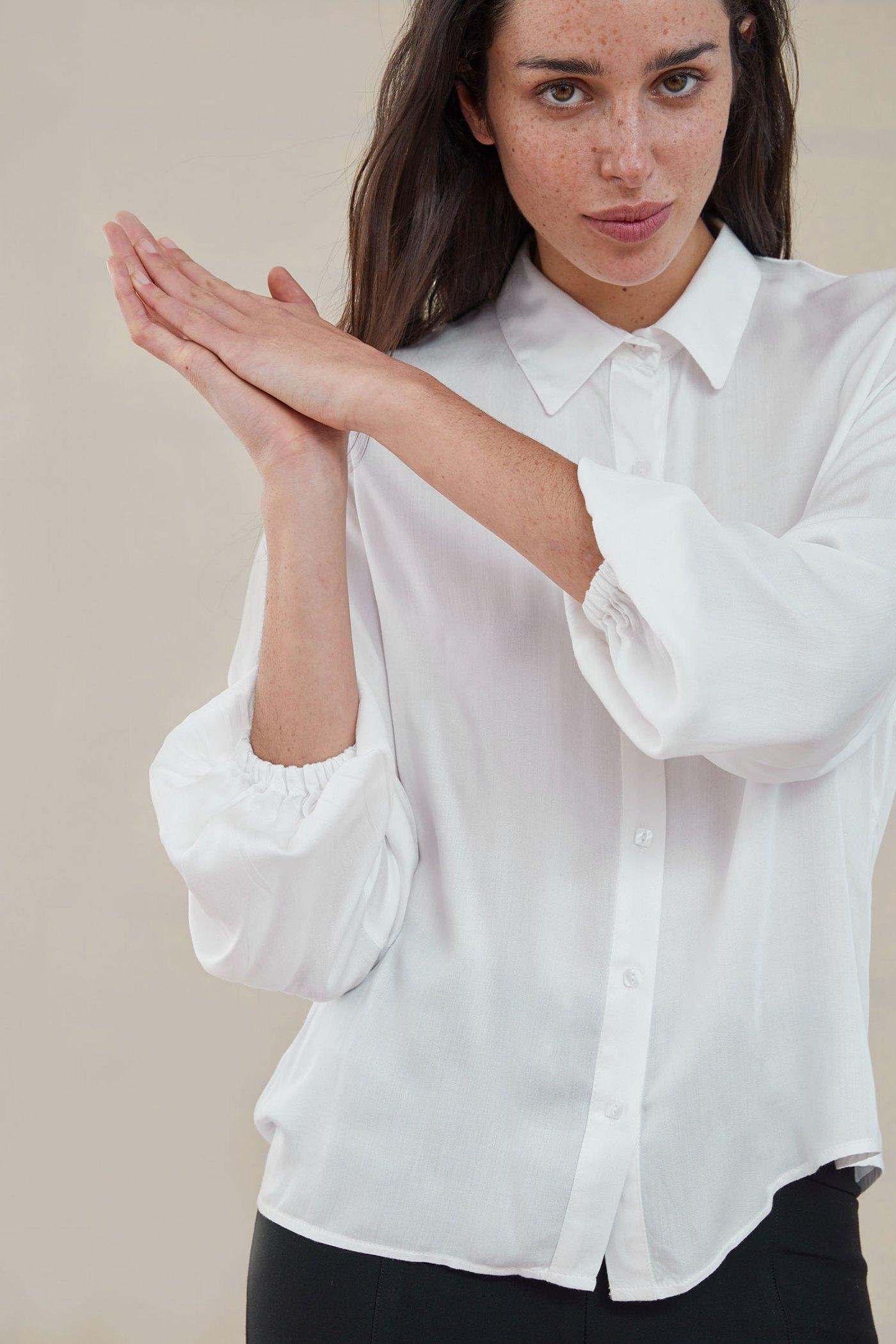 Camisa Woolf Blanca