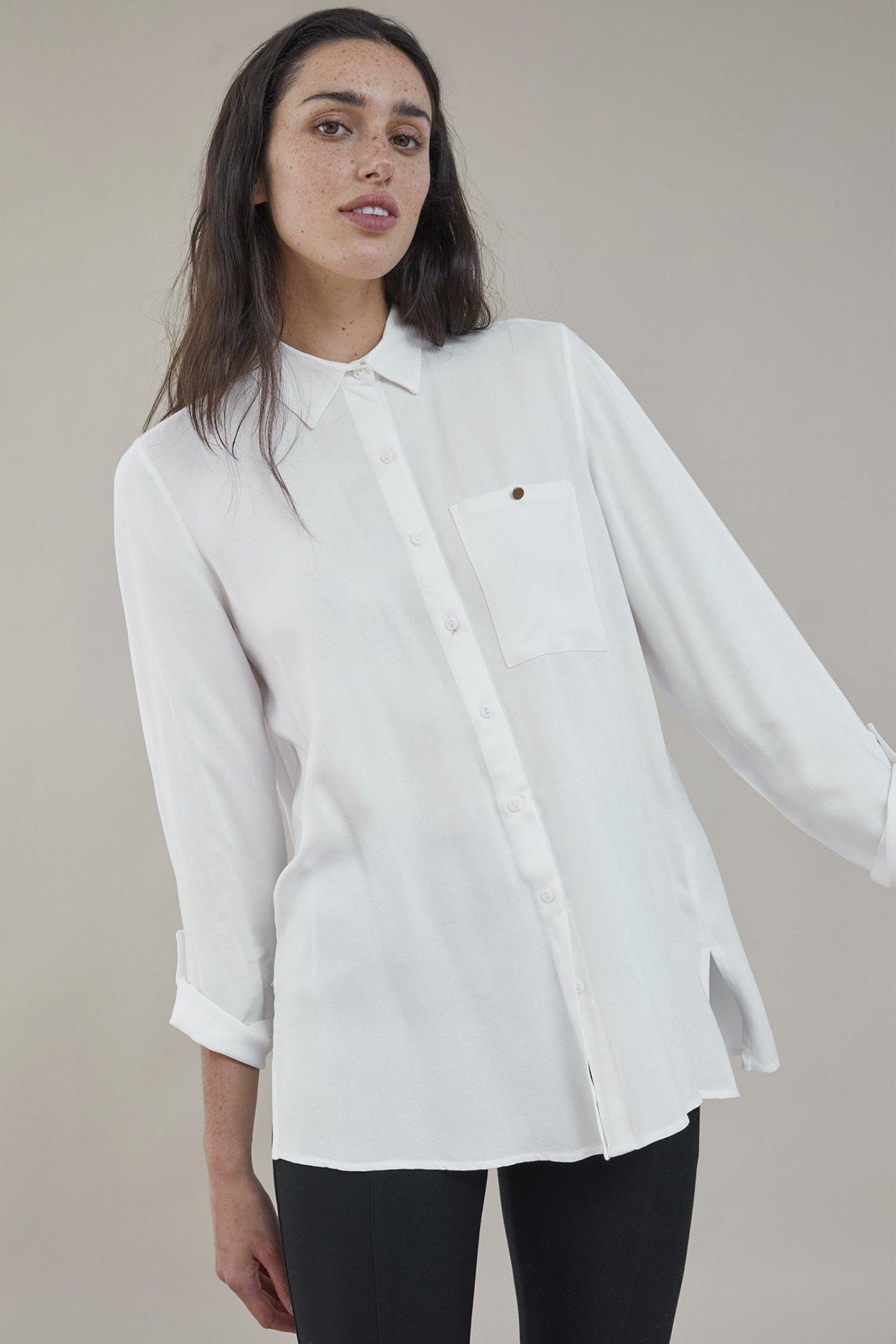 Camisa Minujin Blanco