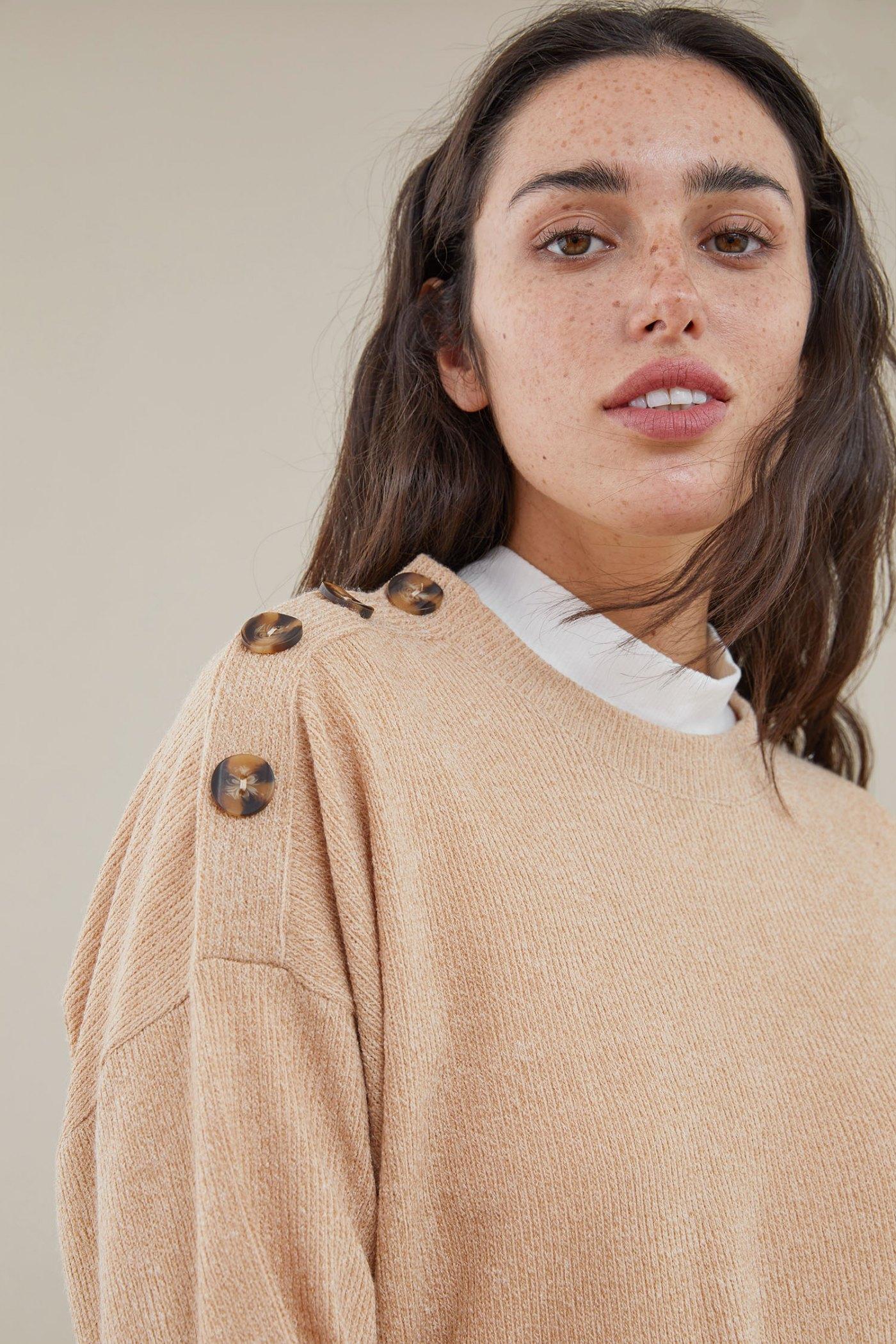 Sweater Murakami Camel