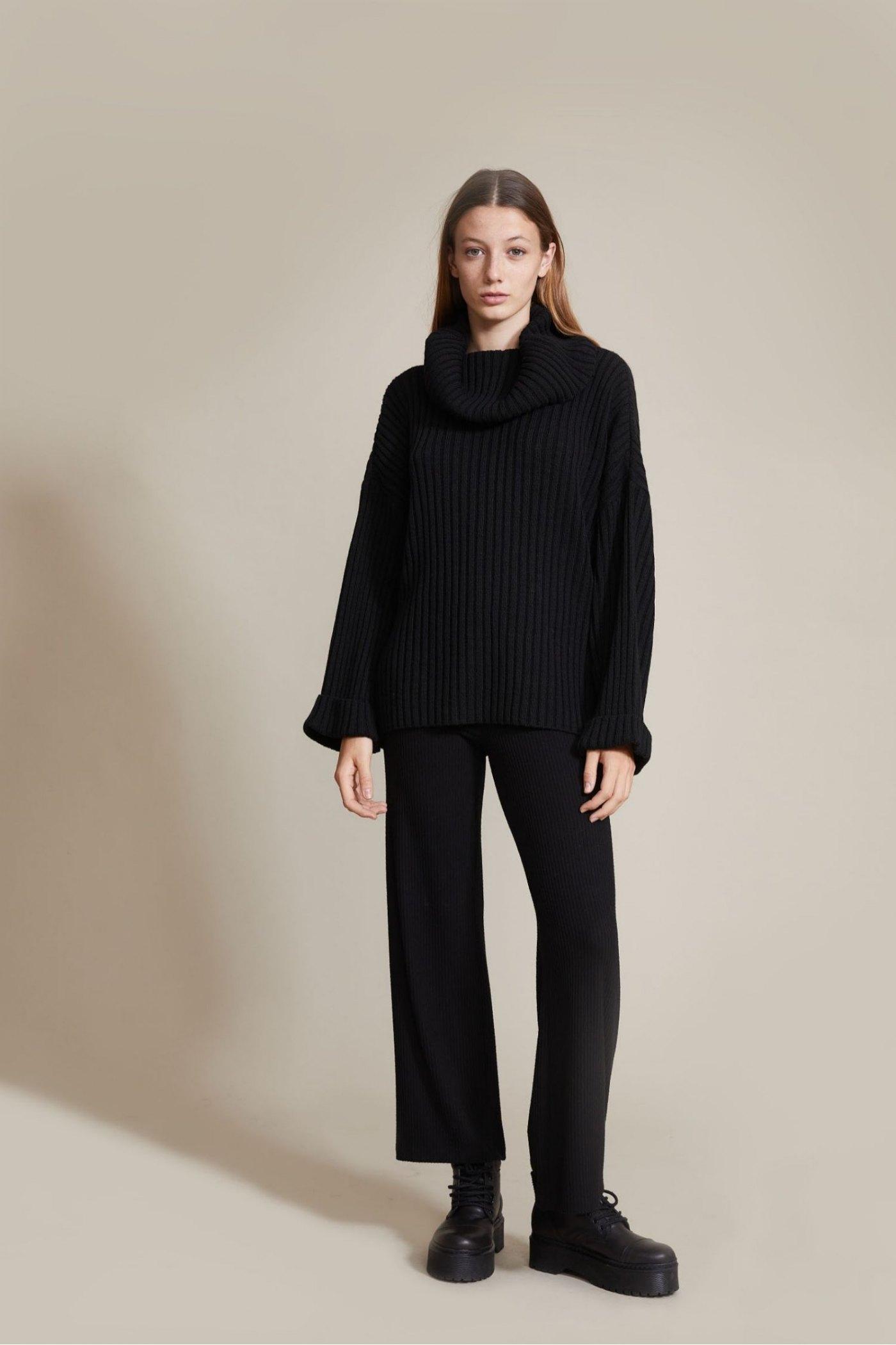 Sweater Dali negro