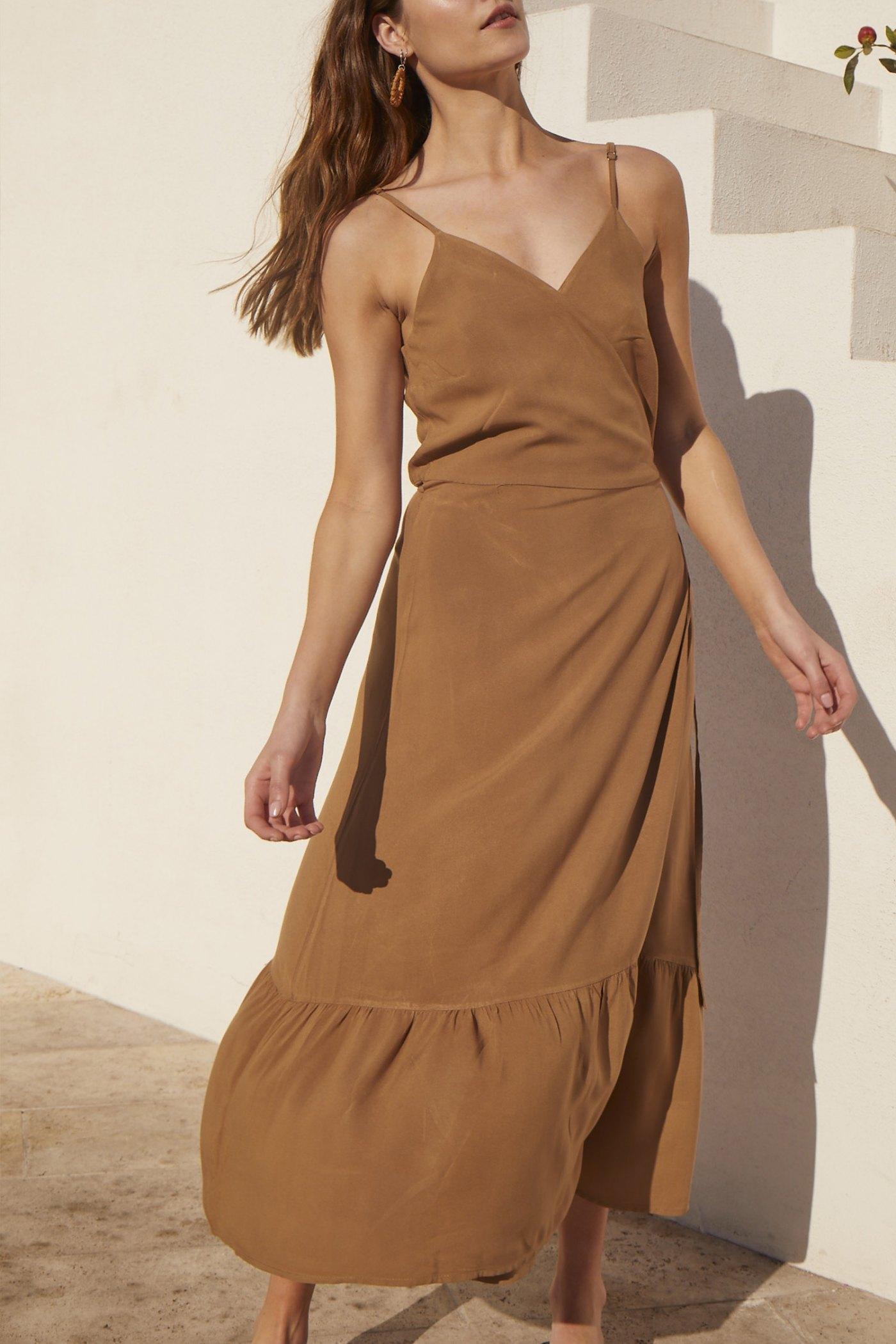 Vestido Hopper Camel
