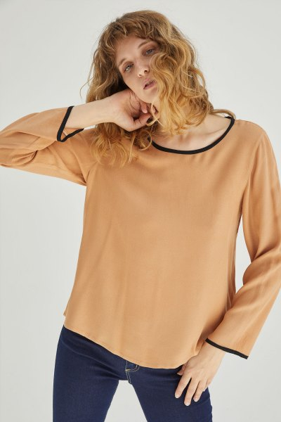 Camisa Carolina Camel