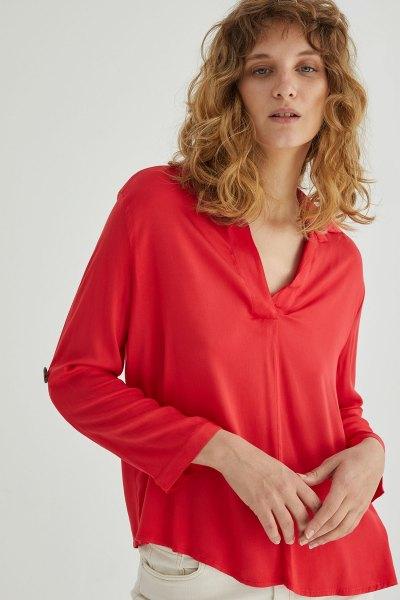 Blusa Abril Rojo