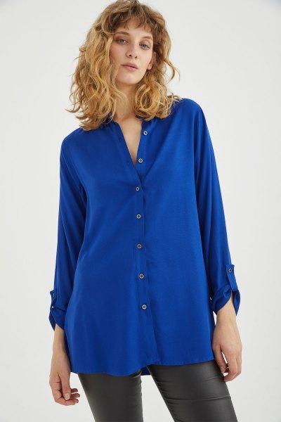 Camisa Andreina Azul