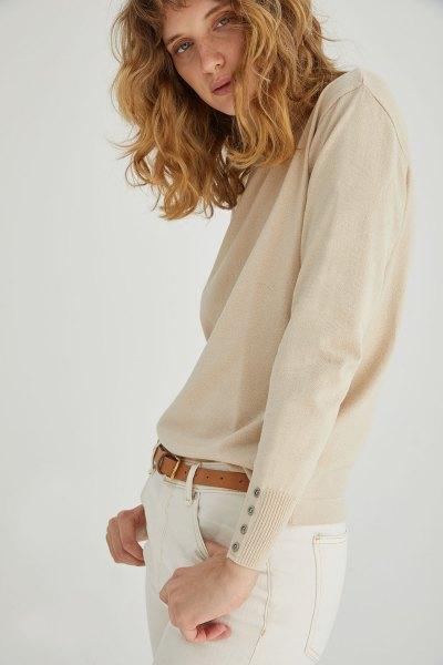 Sweater Celina Beige