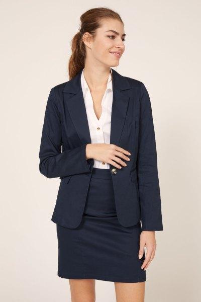 Blazer Uniforme Azul