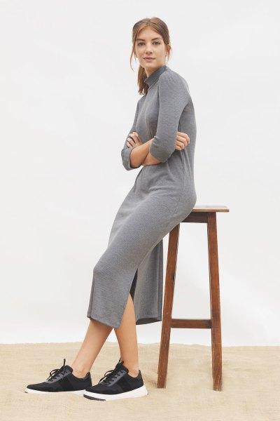 Vestido Silene Gris
