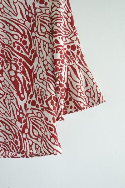 Camisa Esperanza Bordeaux