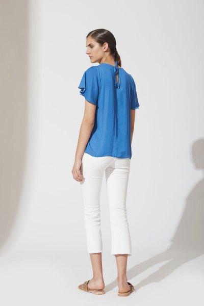 Camisa Catalina Azul