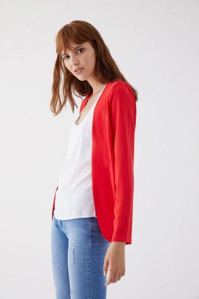 Blazer Yang Rojo