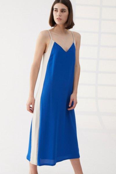 Vestido June Azul