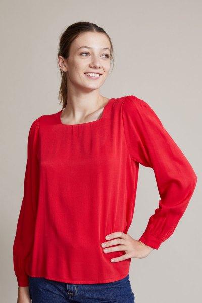 Blusa Klimt Rojo