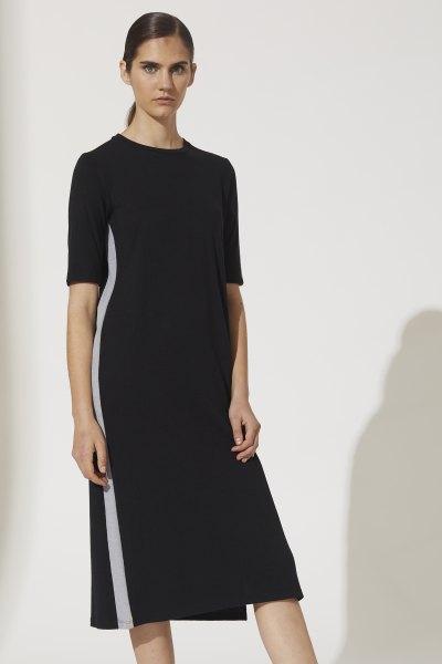 Vestido Lila Negro