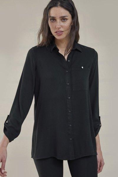 Camisa Minujin Negro