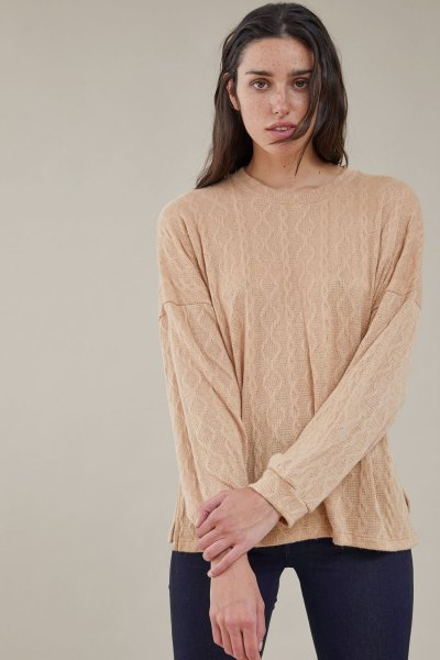 Sweater Britney Camel