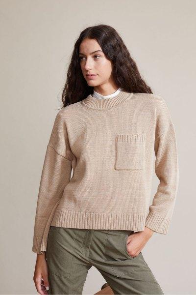 Sweater Bono beige