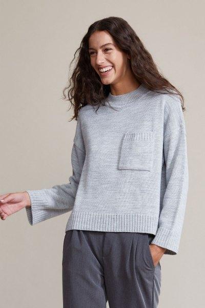 Sweater Bono Gris