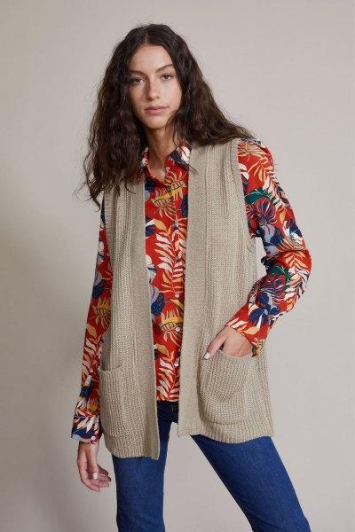 Sweater Coelho Camel