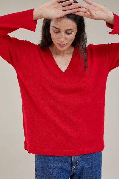 Sweater Freddy Rojo