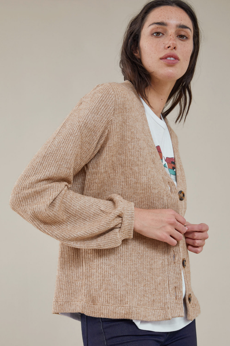 Sweater Hanks Beige